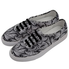 Fractal Sketch Light Men s Classic Low Top Sneakers by jumpercat