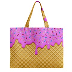 Strawberry Ice Cream Mini Tote Bag by jumpercat
