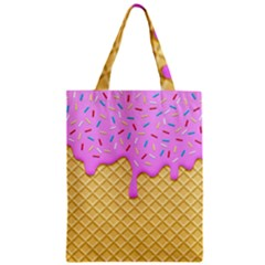 Strawberry Ice Cream Classic Tote Bag by jumpercat