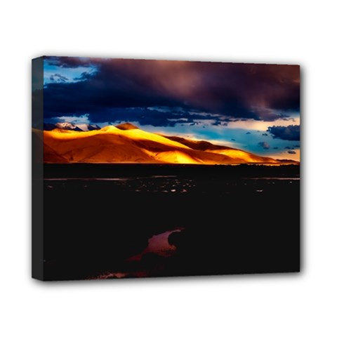 India Sunset Sky Clouds Mountains Canvas 10  X 8
