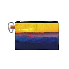 Austria Landscape Sky Clouds Canvas Cosmetic Bag (small) by BangZart