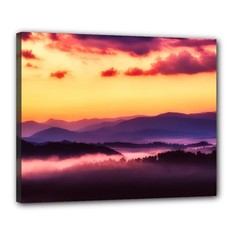 Great Smoky Mountains National Park Canvas 20  X 16