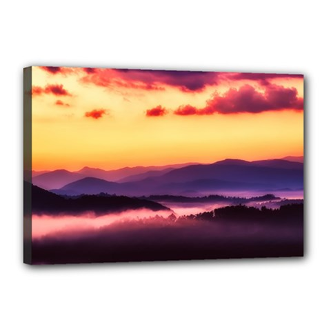 Great Smoky Mountains National Park Canvas 18  x 12