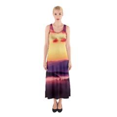 Great Smoky Mountains National Park Sleeveless Maxi Dress