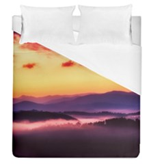 Great Smoky Mountains National Park Duvet Cover (queen Size)