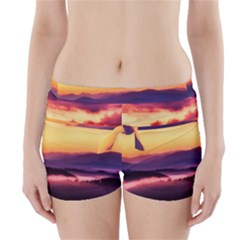 Great Smoky Mountains National Park Boyleg Bikini Wrap Bottoms