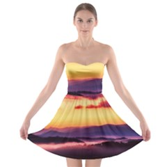 Great Smoky Mountains National Park Strapless Bra Top Dress