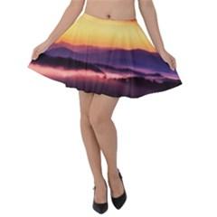 Great Smoky Mountains National Park Velvet Skater Skirt