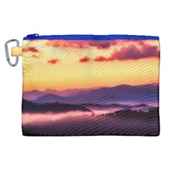 Great Smoky Mountains National Park Canvas Cosmetic Bag (XL)