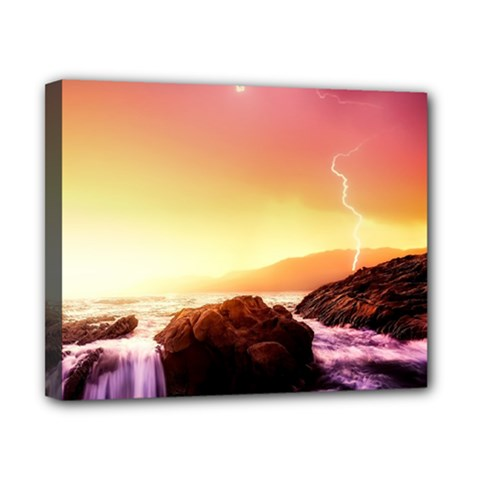 California Sea Ocean Pacific Canvas 10  X 8  by BangZart