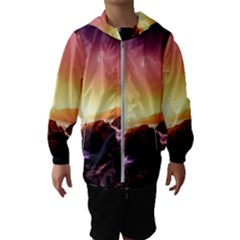 California Sea Ocean Pacific Hooded Wind Breaker (kids)