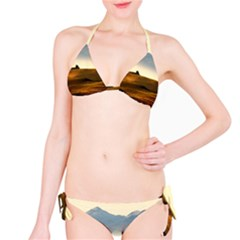 Landscape Mountains Nature Outdoors Bikini Set
