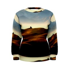 Landscape Mountains Nature Outdoors Women s Sweatshirt