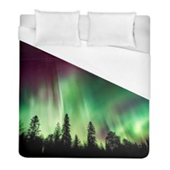 Aurora Borealis Northern Lights Duvet Cover (full/ Double Size) by BangZart