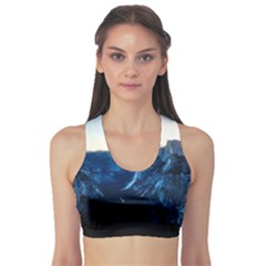 Yosemite National Park California Sports Bra