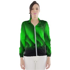 Aurora Borealis Northern Lights Wind Breaker (women)