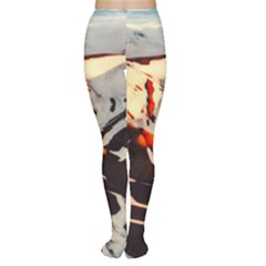 Iceland Landscape Mountains Snow Women s Tights