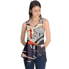 Iceland Landscape Mountains Snow Sleeveless Tunic
