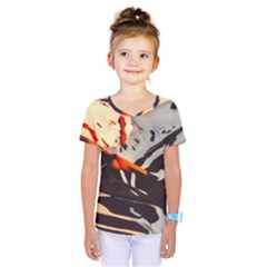Iceland Landscape Mountains Snow Kids  One Piece Tee