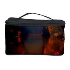 River Water Reflections Autumn Cosmetic Storage Case