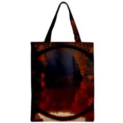 River Water Reflections Autumn Zipper Classic Tote Bag