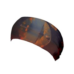 River Water Reflections Autumn Yoga Headband
