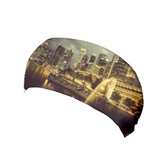 Singapore City Urban Skyline Yoga Headband