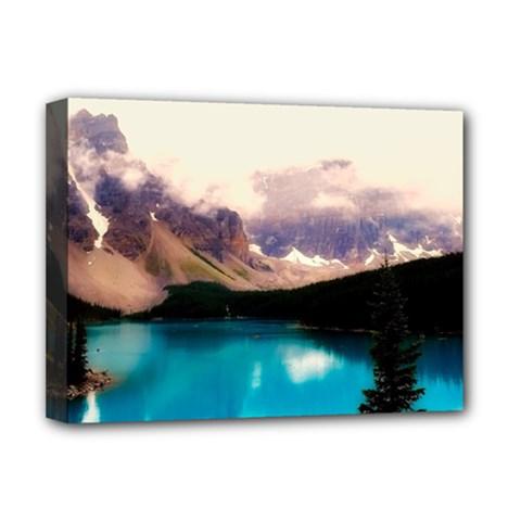 Austria Mountains Lake Water Deluxe Canvas 16  X 12