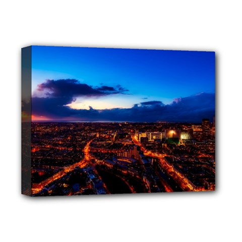 The Hague Netherlands City Urban Deluxe Canvas 16  X 12