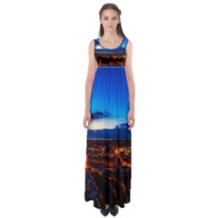The Hague Netherlands City Urban Empire Waist Maxi Dress