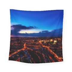 The Hague Netherlands City Urban Square Tapestry (small)