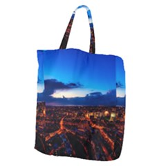 The Hague Netherlands City Urban Giant Grocery Zipper Tote