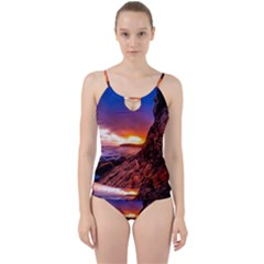 South Africa Sea Ocean Hdr Sky Cut Out Top Tankini Set