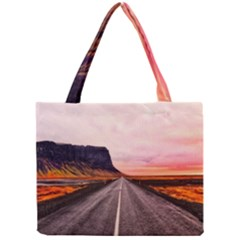 Iceland Sky Clouds Sunset Mini Tote Bag