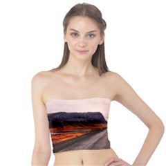 Iceland Sky Clouds Sunset Tube Top