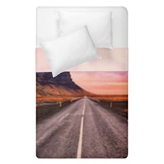 Iceland Sky Clouds Sunset Duvet Cover Double Side (single Size)