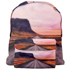 Iceland Sky Clouds Sunset Giant Full Print Backpack