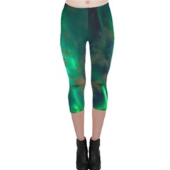 Northern Lights Plasma Sky Capri Leggings