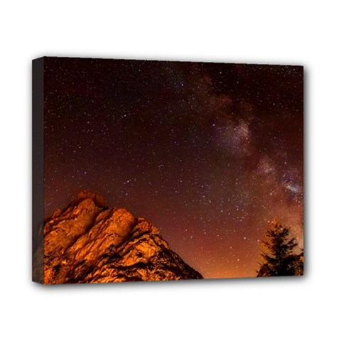 Italy Night Evening Stars Canvas 10  X 8  by BangZart