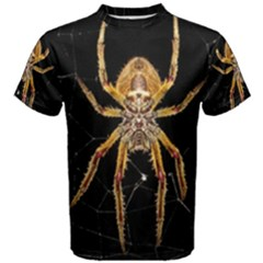 Insect Macro Spider Colombia Men s Cotton Tee