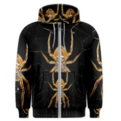 Insect Macro Spider Colombia Men s Zipper Hoodie