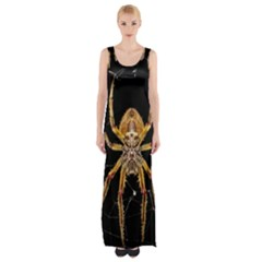 Insect Macro Spider Colombia Maxi Thigh Split Dress