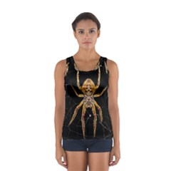 Insect Macro Spider Colombia Sport Tank Top