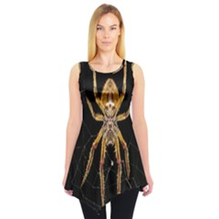 Insect Macro Spider Colombia Sleeveless Tunic