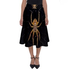 Insect Macro Spider Colombia Perfect Length Midi Skirt