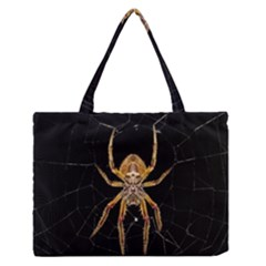 Insect Macro Spider Colombia Zipper Medium Tote Bag