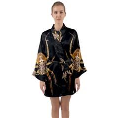Insect Macro Spider Colombia Long Sleeve Kimono Robe