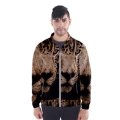 Jaguar Water Stalking Eyes Wind Breaker (men)