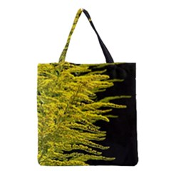 Golden Rod Gold Diamond Grocery Tote Bag by BangZart
