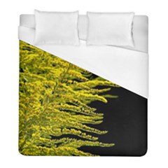 Golden Rod Gold Diamond Duvet Cover (full/ Double Size) by BangZart